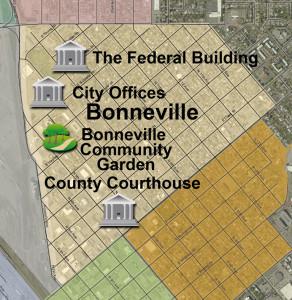 Bonneville-Map