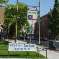 OTNA Episcopal Sign on corner
