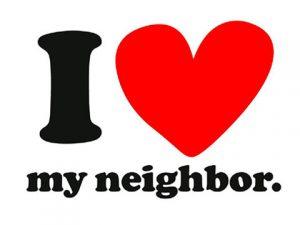 """I """"Heart"""" My Neighbor"""