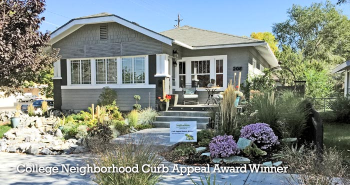 College Neighborhood Curb Appeal Award Winner