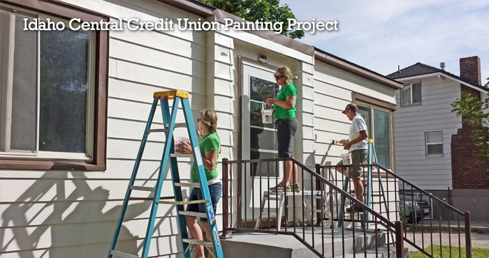 Idaho Central Credit Union Painting Project