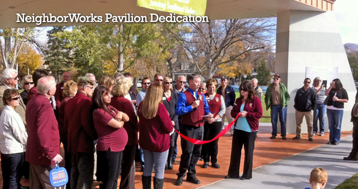 NeighborWorks Pavilion Dedication